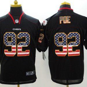Men's Kansas City Chiefs #92 Dontari Poe Jersey